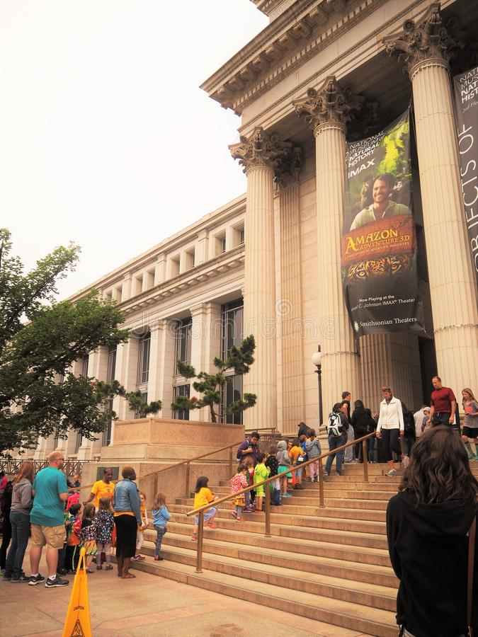 The museum in wasington dc royalty free stock images