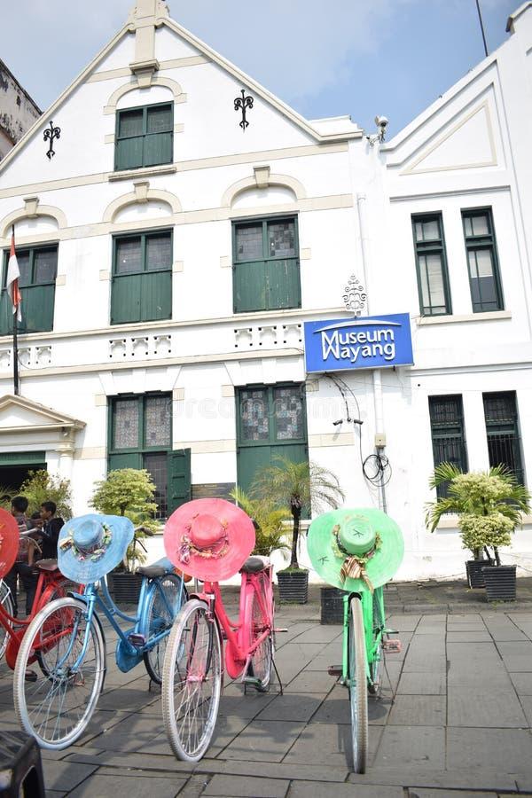 Museum of wayang stock images