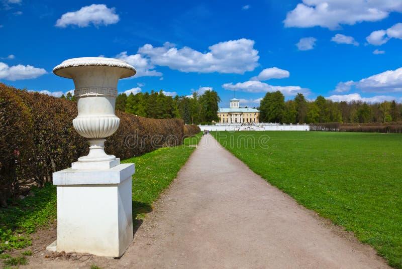 Museum-Zustand Arkhangelskoye - Moskau Russland stockfoto