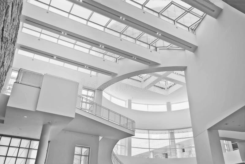 Museumcentrum Los Angeles stock afbeeldingen