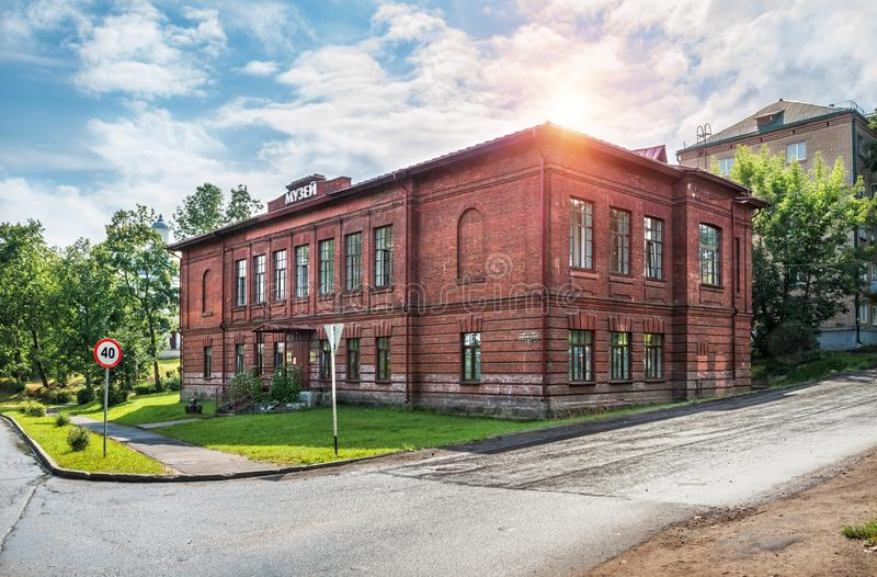 Museumcentrum van klokken in Valdai royalty-vrije stock afbeeldingen