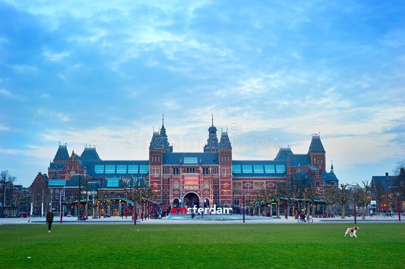 Museumgebied, Amsterdam royalty-vrije stock foto