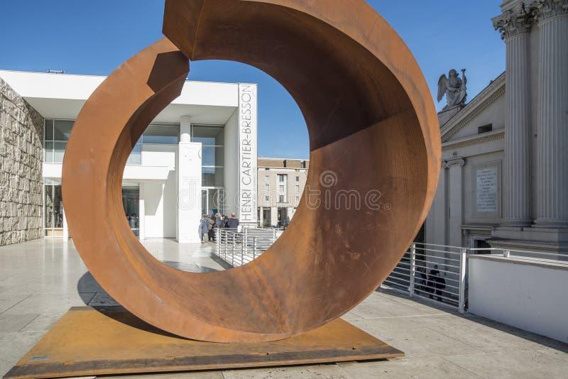 Museummunkhättapacis rome Italien Europa royaltyfria bilder