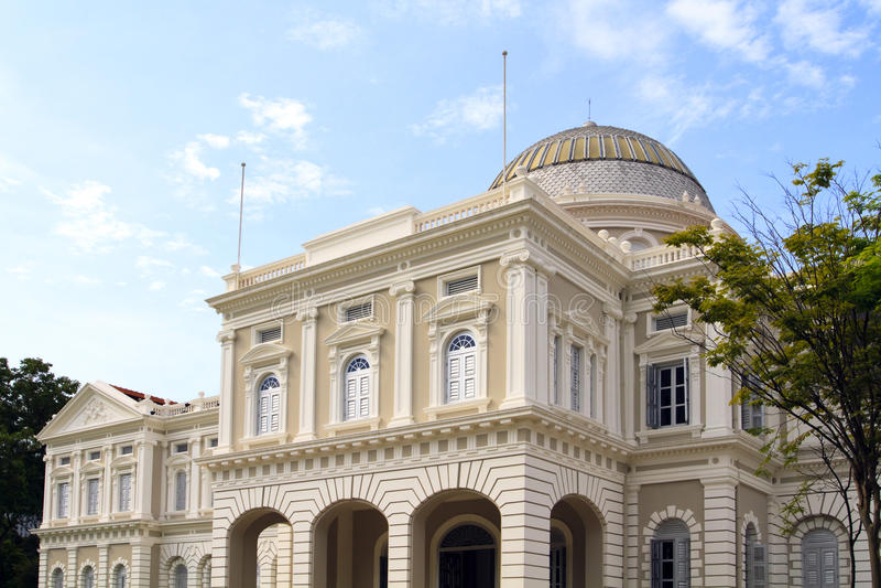 museumnational singapore royaltyfri foto