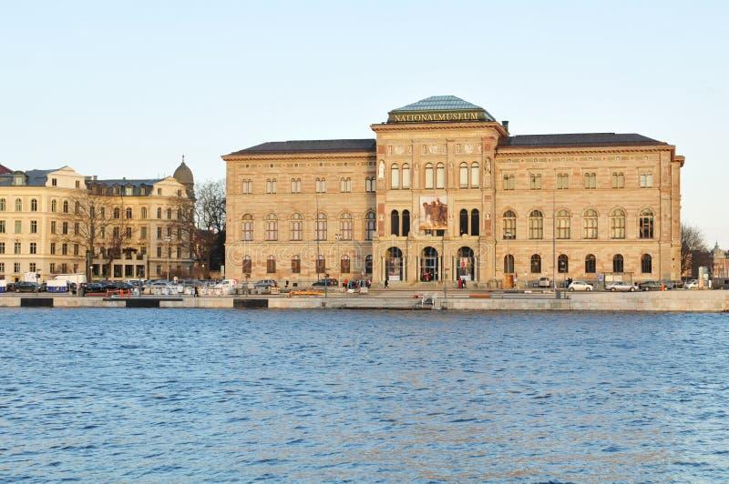 museumnational stockholm royaltyfri bild