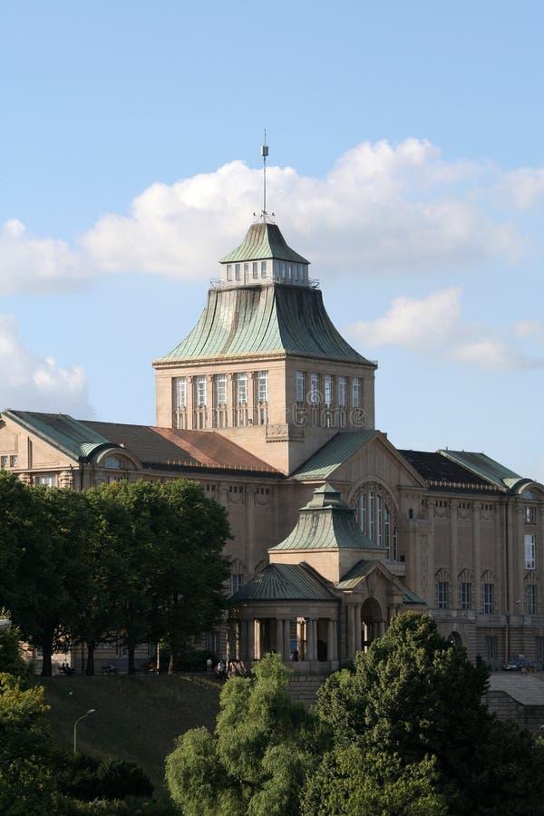 Download Museumnationalszczecin fotografering för bildbyråer. Bild av teater - 984473