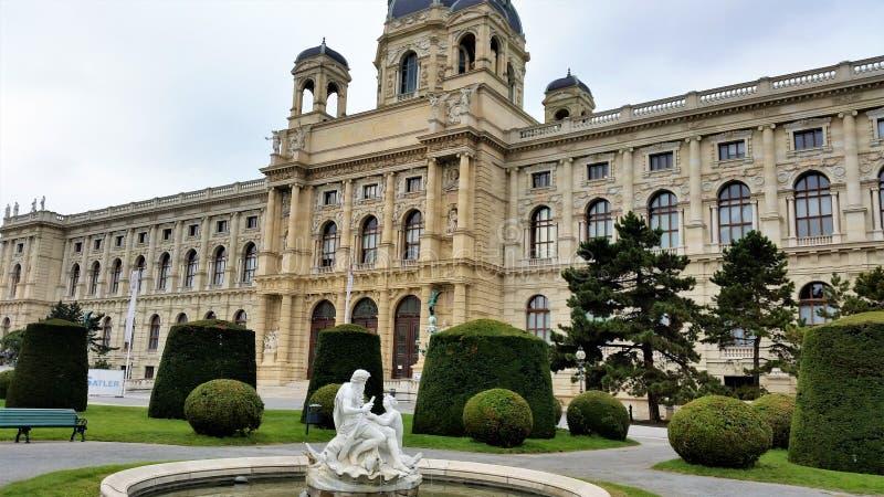 museumnaturhistorisches vienna royaltyfri foto