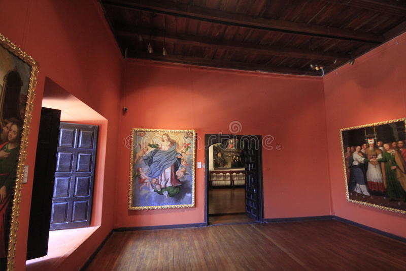 Museums in Potosi Bolivia royalty free stock image