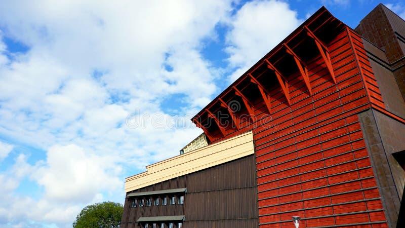 Museumsgebäude Architektur in Stockholm stockfoto