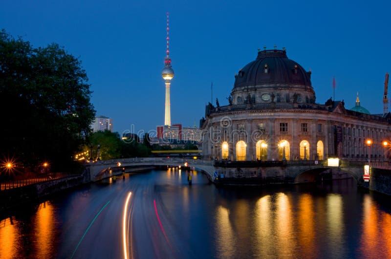 Museumsinsel di Berlino fotografie stock libere da diritti