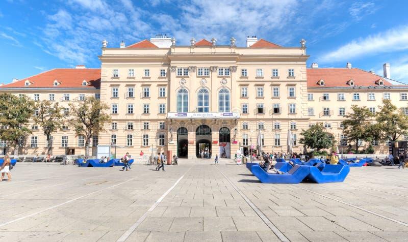 Download MuseumsQuartier, Museumsplatz, вена Редакционное Фотография - изображение насчитывающей кафе, leopold: 33732007