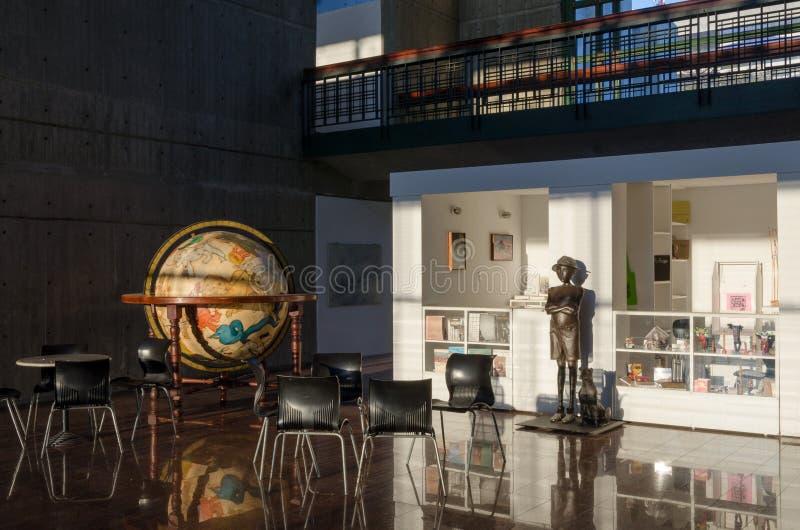 Museumssouvenirladen in Caracas stockfoto
