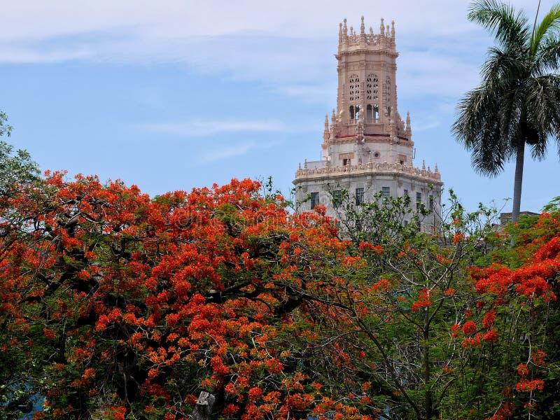 Museumstelekommunikation Havana lizenzfreie stockfotografie