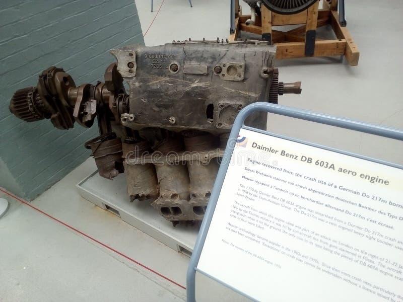 Museun di Duxford immagine stock libera da diritti