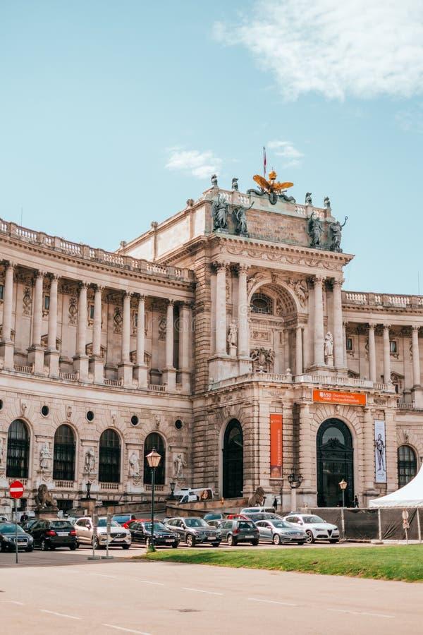 Museus do Burg de Neue em Viena, Áustria foto de stock royalty free