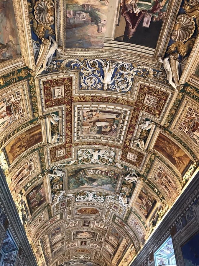 Museus do Vaticano - Roma imagens de stock royalty free