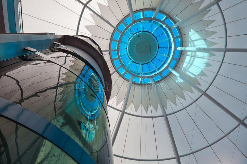 Mushrif galleria i Abu Dhabi royaltyfria foton