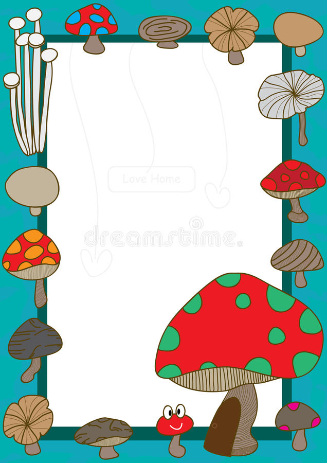Download Mushroom Home_eps stock vector. Image of collections - 22713900