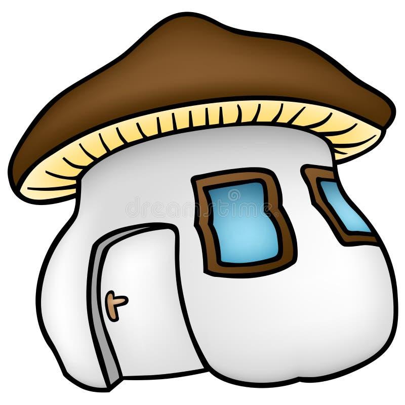 Mushroom House stock illustration