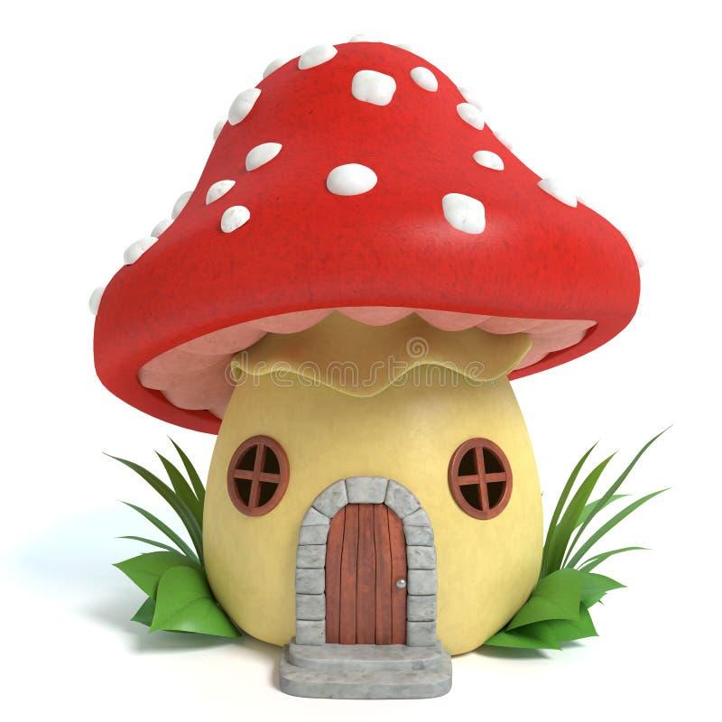 Charming Mushroom House