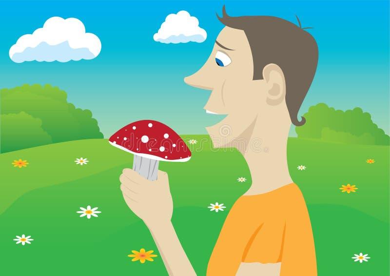 Download Mushroomer stock vector. Illustration of knowledge, mushroomer - 18027737