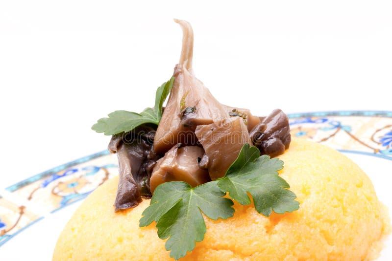 Download Mushrooms On Top Of Corn Mush Stock Image - Image: 29016519