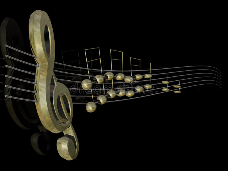 Download Music 01 stock illustration. Image of entertainment, song - 4949698