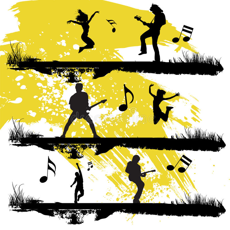 Download Music stock vector. Image of music, people, frequency - 15909790