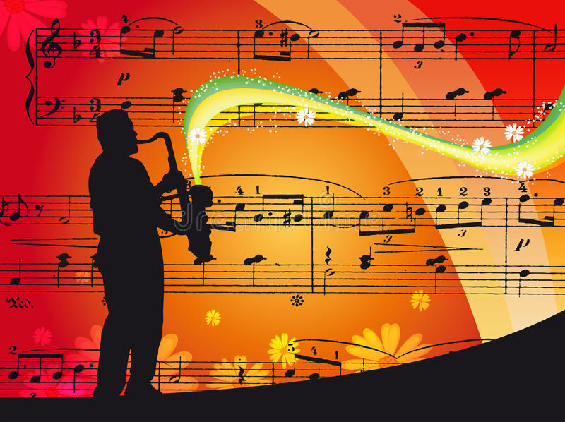 Download Music stock illustration. Image of line, peace, playing - 17650336