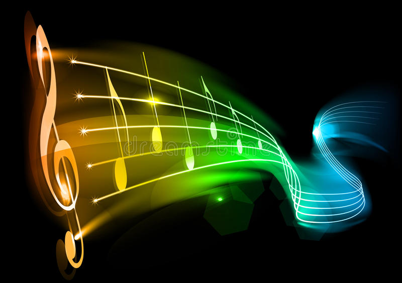 Download Music stock vector. Image of illustration, heat, note - 17886449