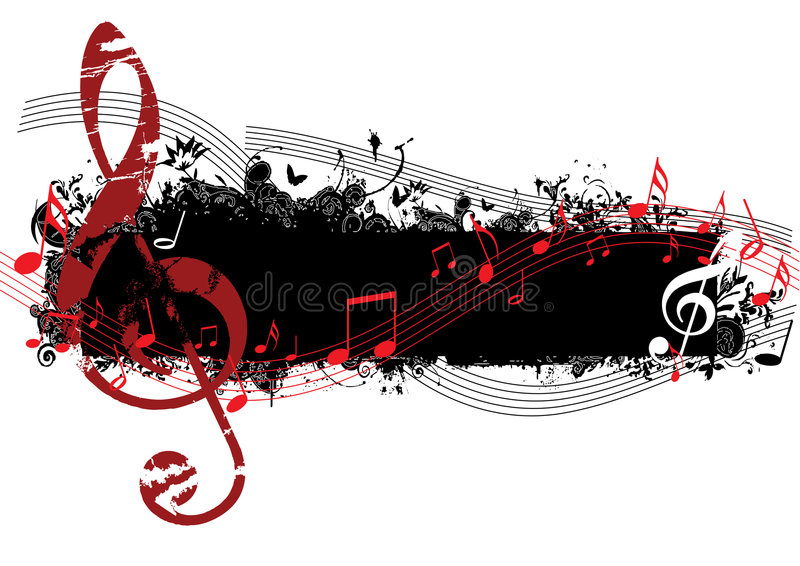 Download Music stock vector. Illustration of disco, flowing, clef - 6866325