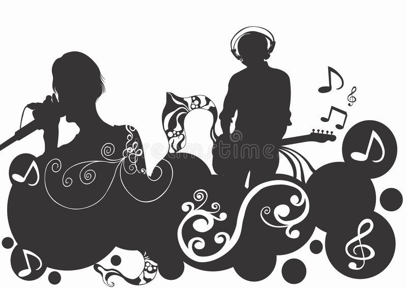 Download Music stock illustration. Image of sound, music, concert - 744475