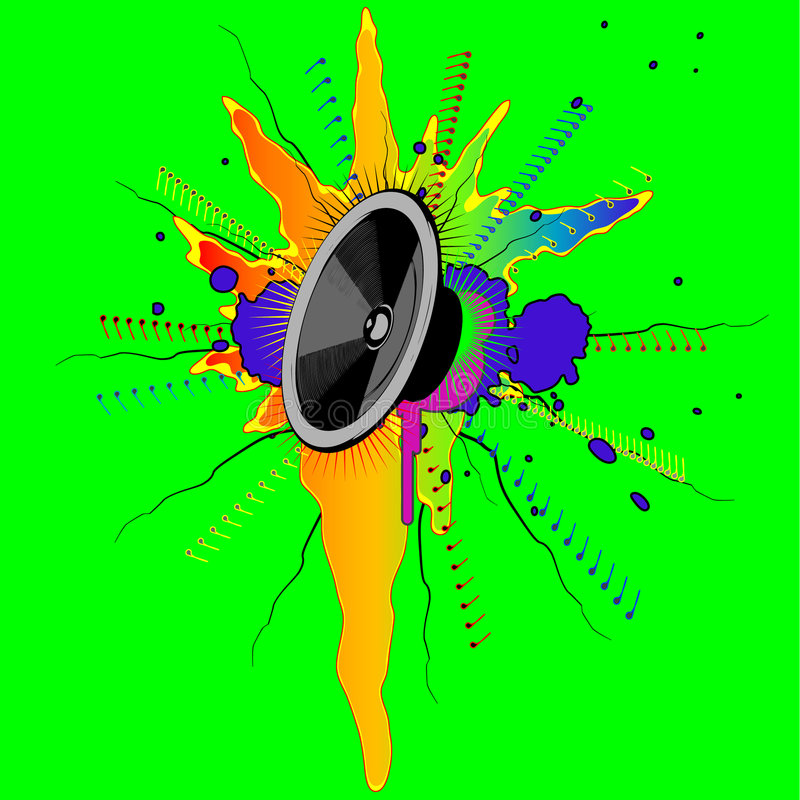 Download Music stock vector. Image of clip, electronics, disco - 8439319