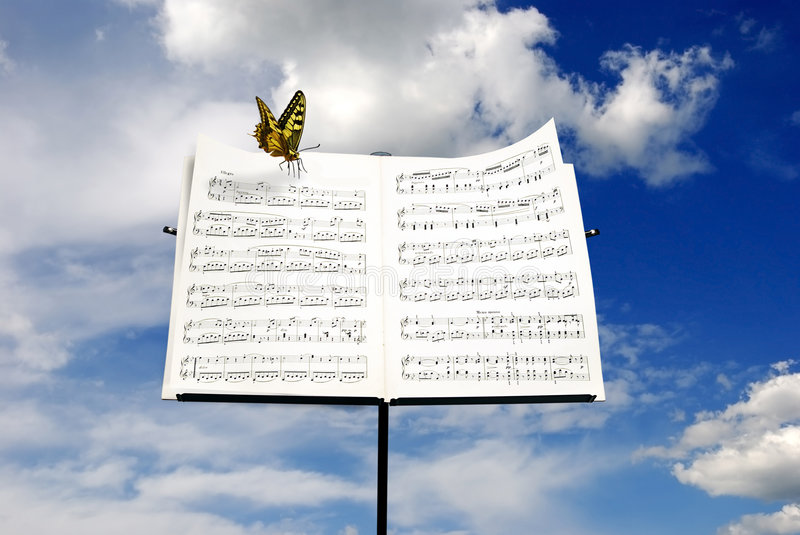 Download Music stock image. Image of freedom, conceptual, insect - 8452685