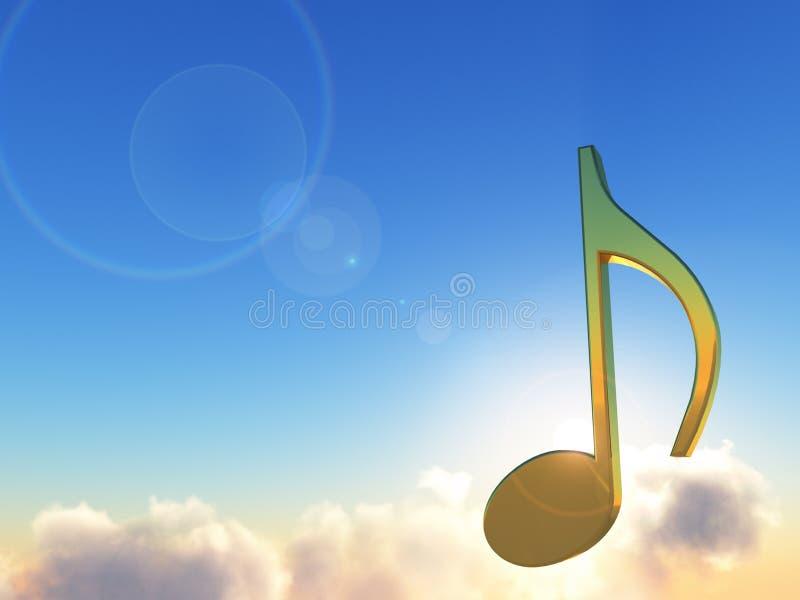 Download Music stock illustration. Illustration of heavenly, note - 9919361