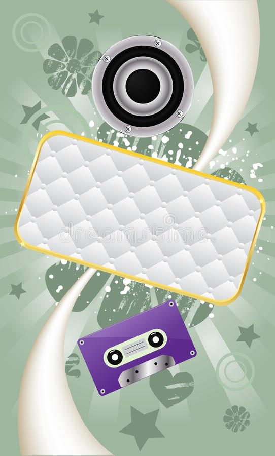 Download Music Abstract Vector Background Stock Vector - Image: 13482450