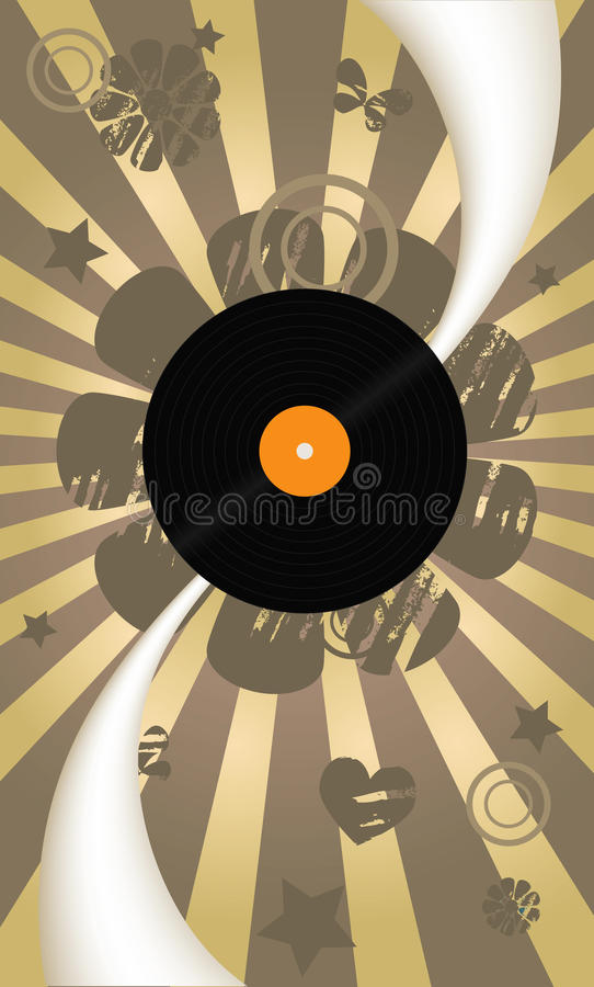 Download Music Abstract Vector Background Stock Vector - Illustration: 13484771