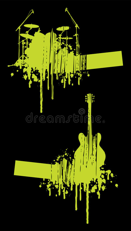 Download Music abstracts stock vector. Image of party, arts, nightclub - 9967558