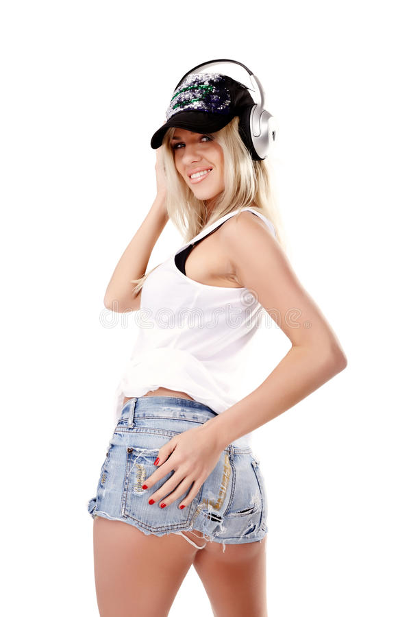 Music babe stock images