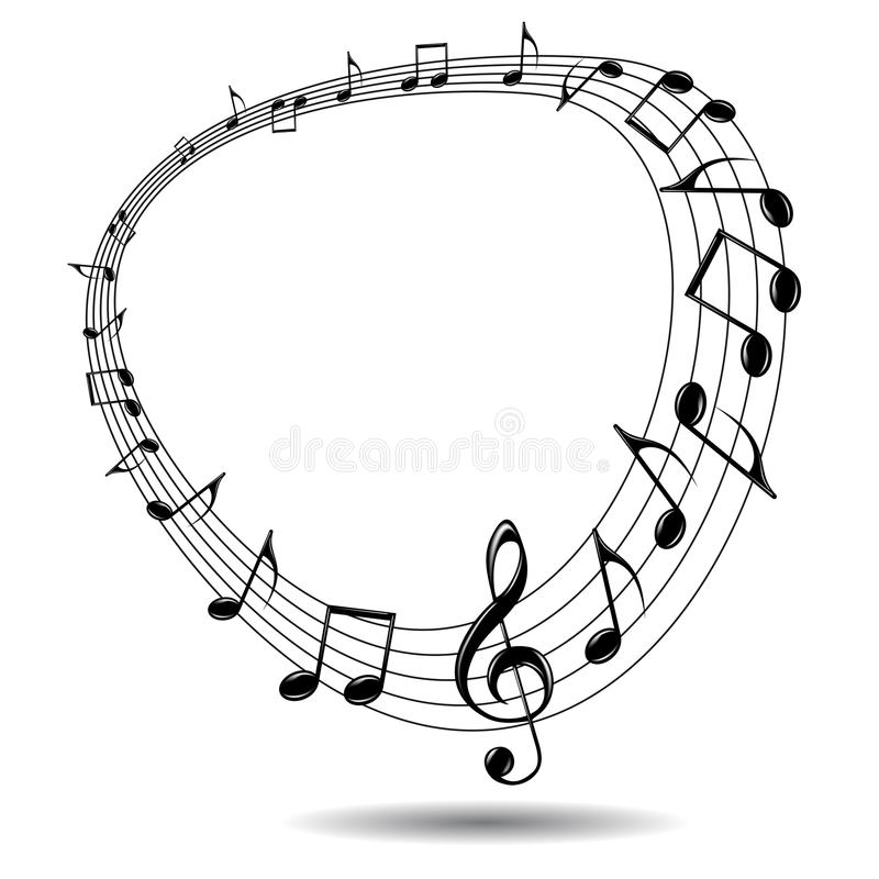 Music background. stock photography