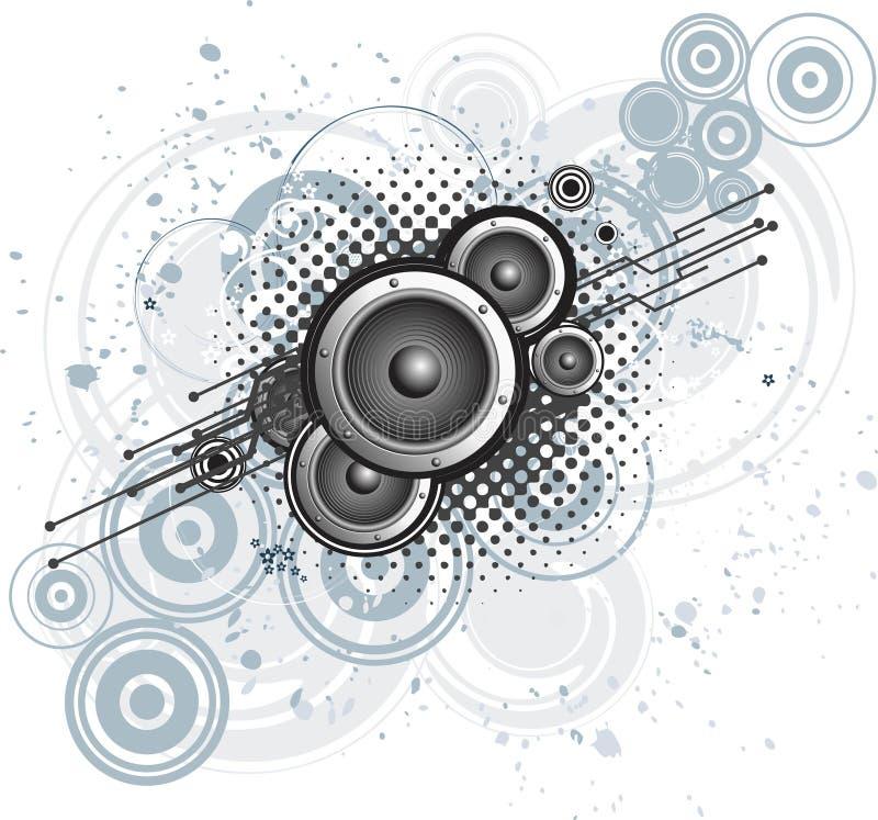 Download Music background stock vector. Illustration of speaker - 15299083