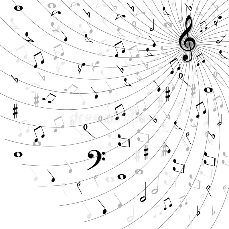 Music background royalty free illustration