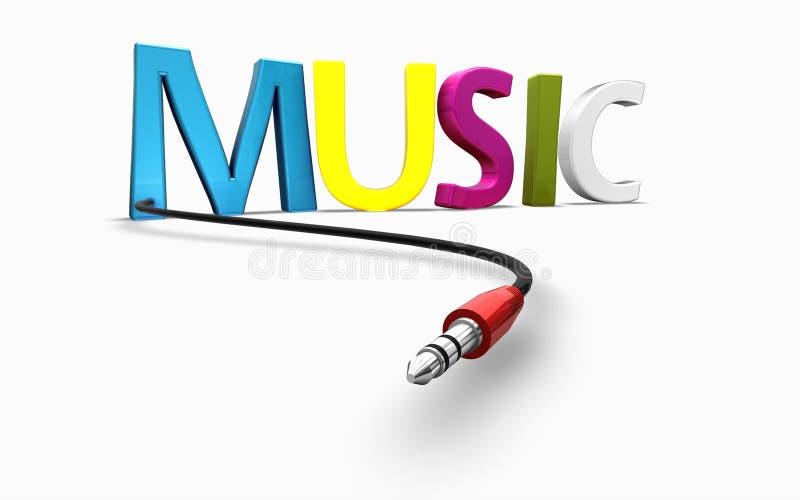 Download Music background stock illustration. Illustration of cord - 17879640