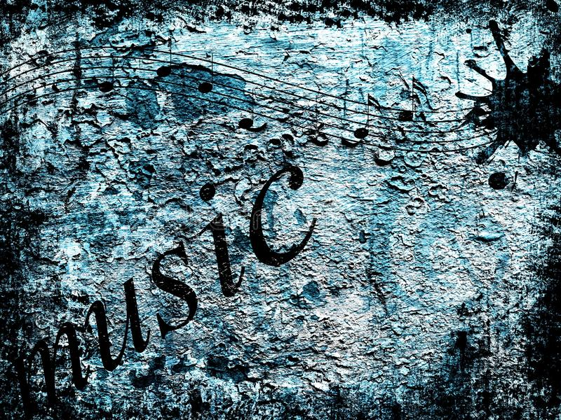 Music background royalty free stock photos