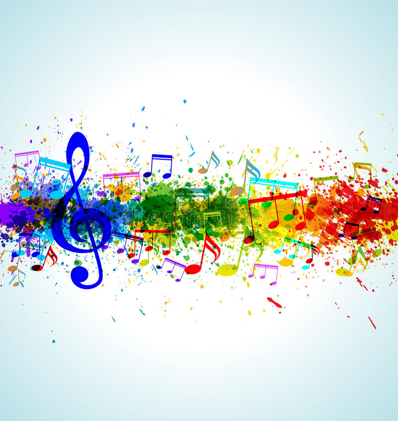 Free Music Background Stock Photography - 27052052