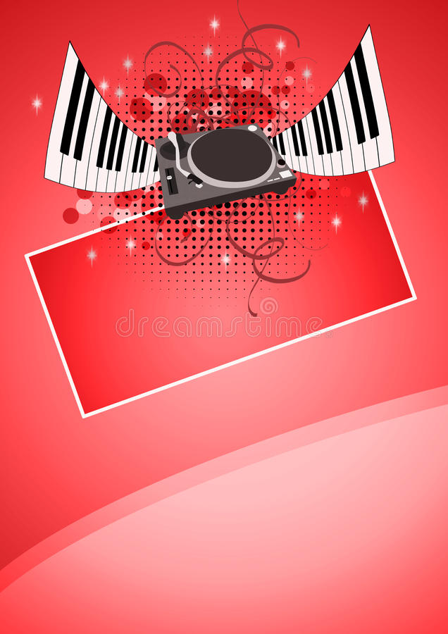 Download Music background stock illustration. Image of grungy - 28175046