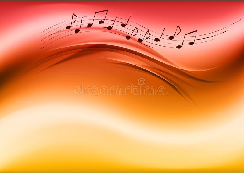 Download Music background stock vector. Image of classical, modern - 29208952