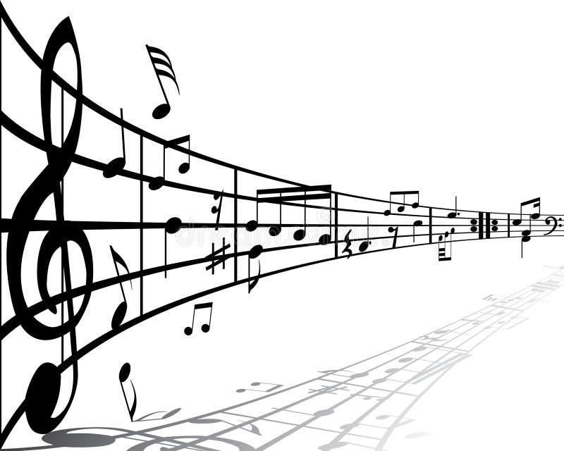 Music background royalty free stock photo