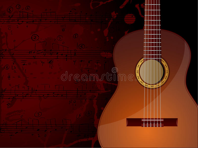 Download Music Background stock vector. Illustration of pattern - 9863375