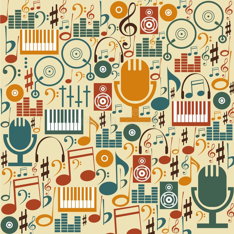 Download Music background stock vector. Illustration of object - 32166218